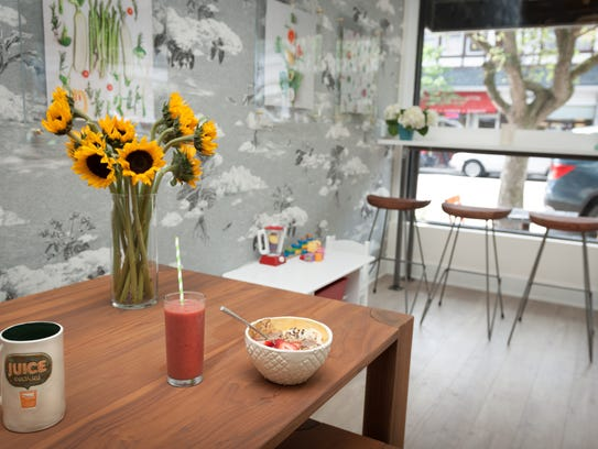 Juice Culture in Upper Montclair offers on-the-go ordering