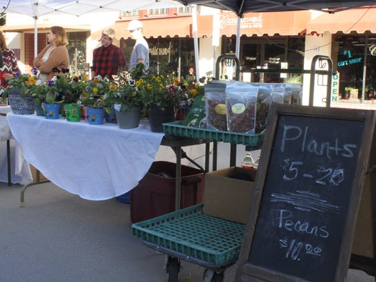 Local vendors and businesses gather to show off their