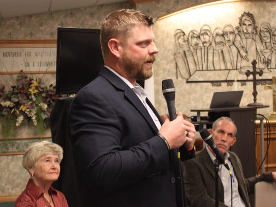 Wes Carter, who is running unopposed for a four-year
