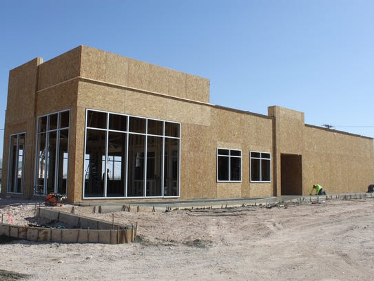 Construction is underway at Carlsbad's new Burger King
