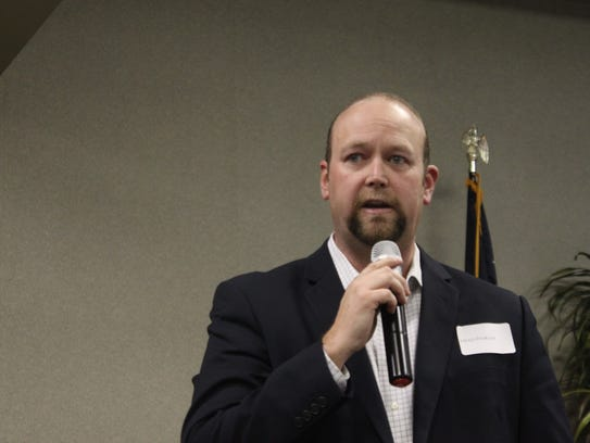 Ward 1 city council candidate Chad Ingram discusses