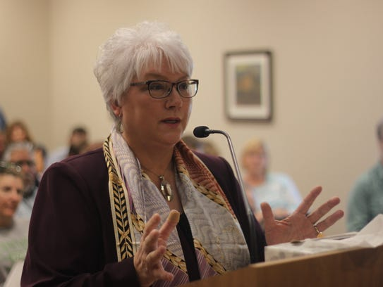 New Mexico State Rep. Cathrynn Brown (R-55) addressed