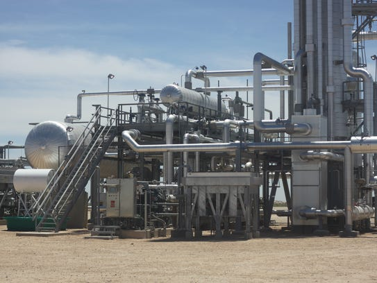 Sendero's natural gas processing plant in Loving is