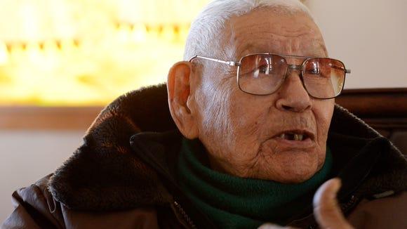 Retired Rev. Sidney Byrd, 96, of Flandreau talks about