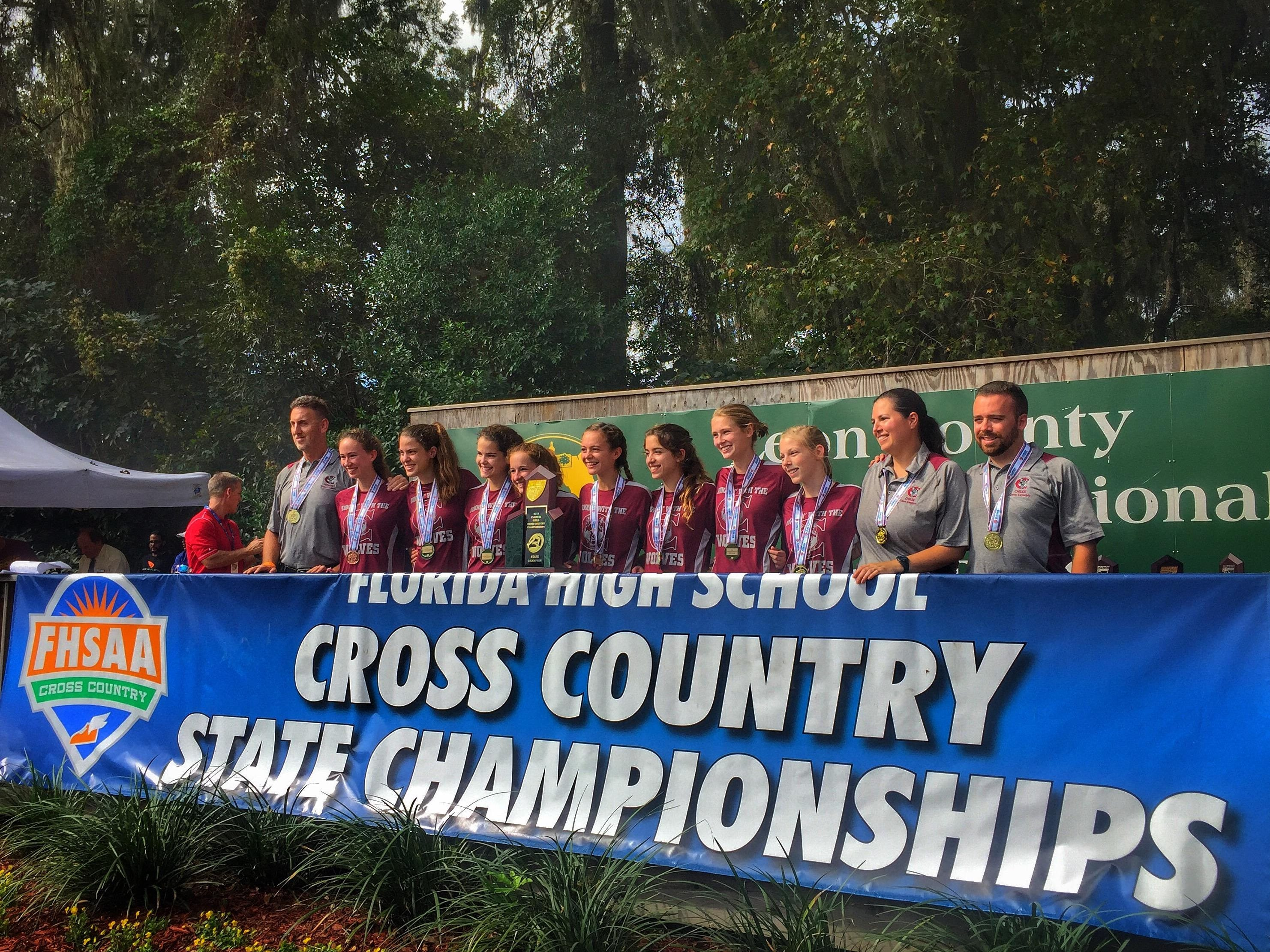 The Chiles girls won the 2015 FHSAA Class 3A state title on Saturday at Apalachee Regional Park.