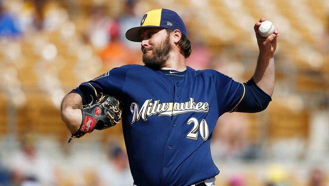 Wade Miley had three minor-league outings to allow the Brewers to decide whether to keep him.