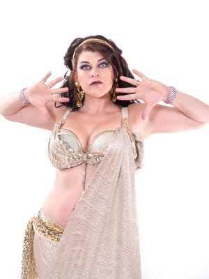 """Lauren """"Madame Onca"""" O'Leary is a performer and producer of ABSFest."""