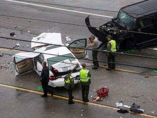 AP FATAL CRASH-MALIBU A USA CA