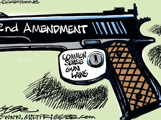 Common sense gun laws?