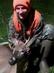 Nick Yartyn, of Van Etten, harvested this 6-point buck