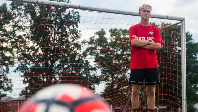 Vineland's Blaze Snyder has become a major point of a soccer resurgence for the Fighting Clan in 2017.