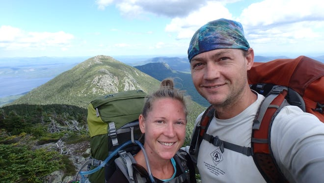 Kayce Johnson and her fiance Larran Smith returned home to Hendersonville after hiking the Appalachian Trail.