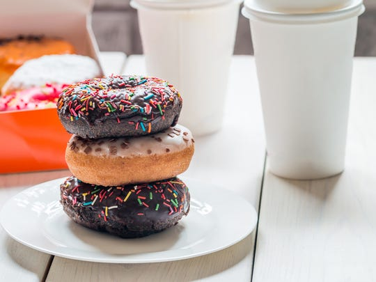 Dunkin' wants you to take a break and eat a free doughnut.