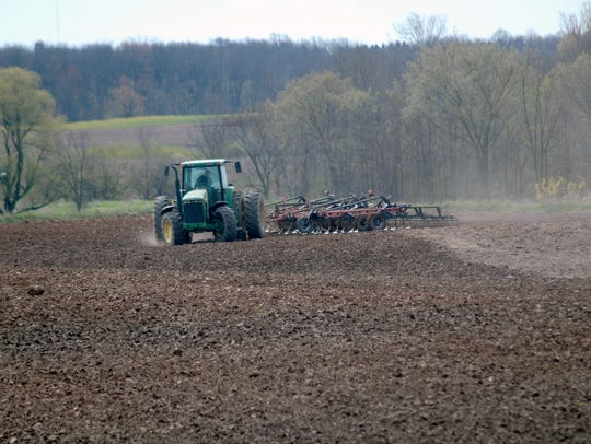 Many farmers across the state of Wisconsin and the Midwest are seeing the planting window growing narrower with each passing rain shower that keeps the soil saturated.
