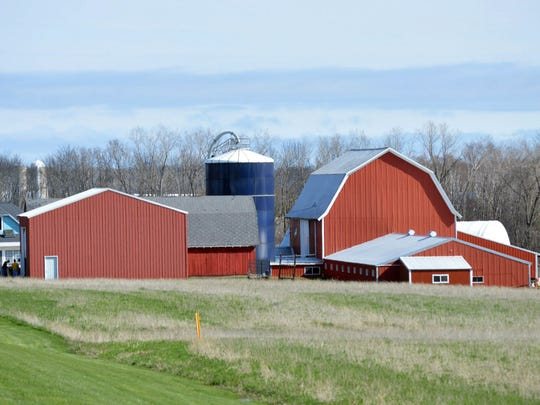 The Wallace family farm at N9388 County Road, P, in Kewaunee County will be the place for the Kewaunee breakfast on the farm on June 11.
