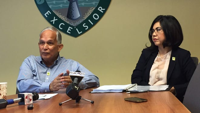 University of Guam President Robert Underwood and accreditation liaison officer Anita B. Enriquez announce at a July 18 press conference that the university has again been accredited for another eight years from the Western Association of Schools and Colleges' Senior College and University Commission.  UOG received its first eight years of accreditation in 2009. The maximum period of reaffirmation of accreditation an institution can earn is 10 years.