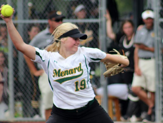 635975532515701622-Menard-freshman-pitcher-Maddie-Foltz-19-fires-a-strike-during-the-seventh-inning-of-the-Lady-Eagles-victory-over-Kinder-.JPG
