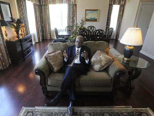Tuskegee University president Benjamin F. Payton talks during an interview at the school's campus in Tuskegee, Ala. on Tuesday April 13, 2010.