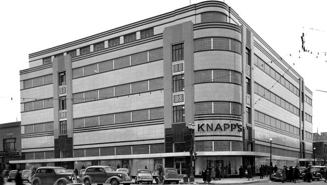 The Knapp's department store opened in downtown Lansing in 1937 and closed in 1980.