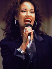 The late Tejano singer Selena Quintanilla Perez sang at an elementary school in Corpus Christi, Texas, in 1994. The was killed in 1995.