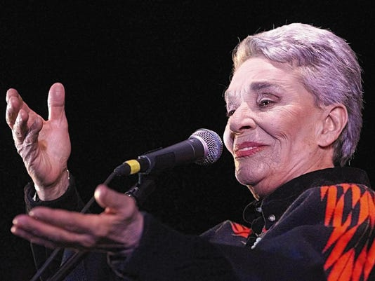The singer of popular Mexican music, Chavela Varga