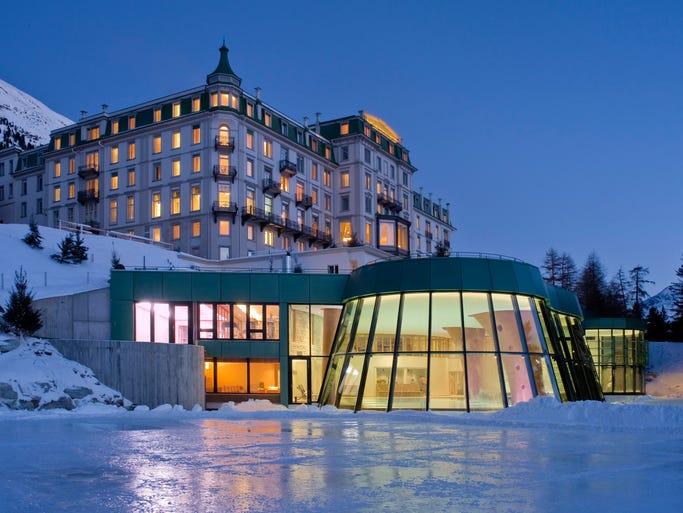 The Grand Hotel Kronenhof in Pontresina, Switzerland, tops TripAdvisor's list of the top 10 hotels in the world for 2014.