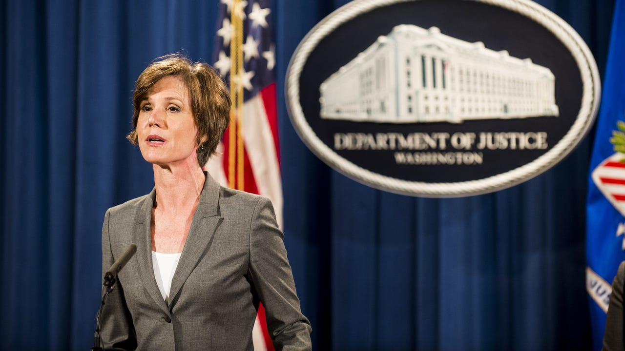 Sally Yates to testify on Russia election probe