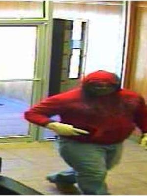 The Federal Bureau of Investigation is seeking this man in connection with a 2014 Carlsbad bank robbery.