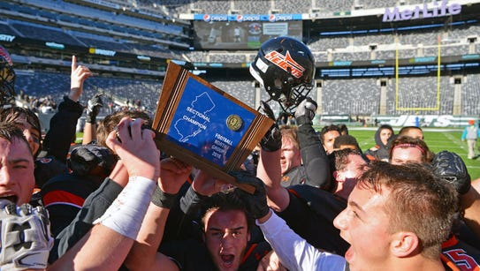 Hasbrouck Heights celebrates its North 1, Group 1 title