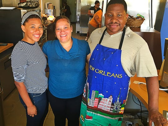 "Soft launch Illysa, Taleha and Illya Williams open up ""Spice Café"" -- a Caribbean, Soul Food and Creole Fusion Restaurant boasting dishes such as Moroccan chicken, etoufee and fried flounder with collard greens."