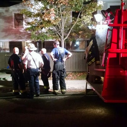 Fire damages Burlington apartment building