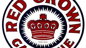 This logo is for a brand of gasoline long sold by Standard Oil, which opened a plant in Henderson 100 years ago.