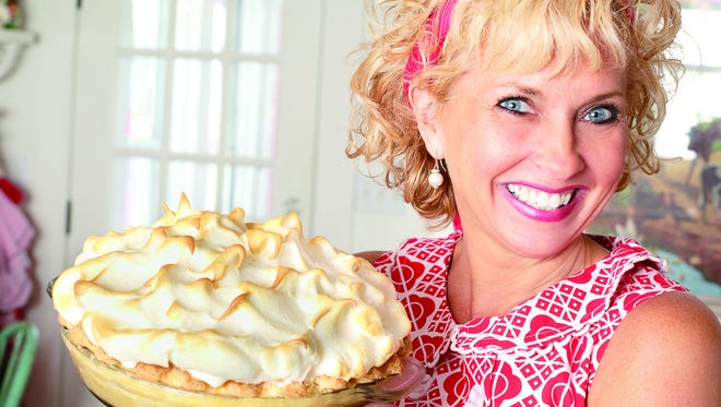 Linda Hundt, pie-maker, business owner and author, will be at Willard Library on 6:30 p.m. Sept. 25