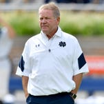 Notre Dame coach: We're ready for Michigan State