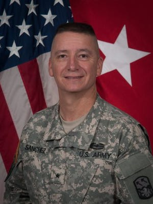 Army Brig. Gen. Eric L. Sanchez has been named the new commander at White Sands Missile Range. He will succeed Brig. Gen. Timothy Coffin, who has been at WSMR since July 2014.