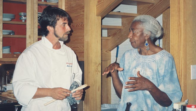 Irv Miller and Edna Lewis.