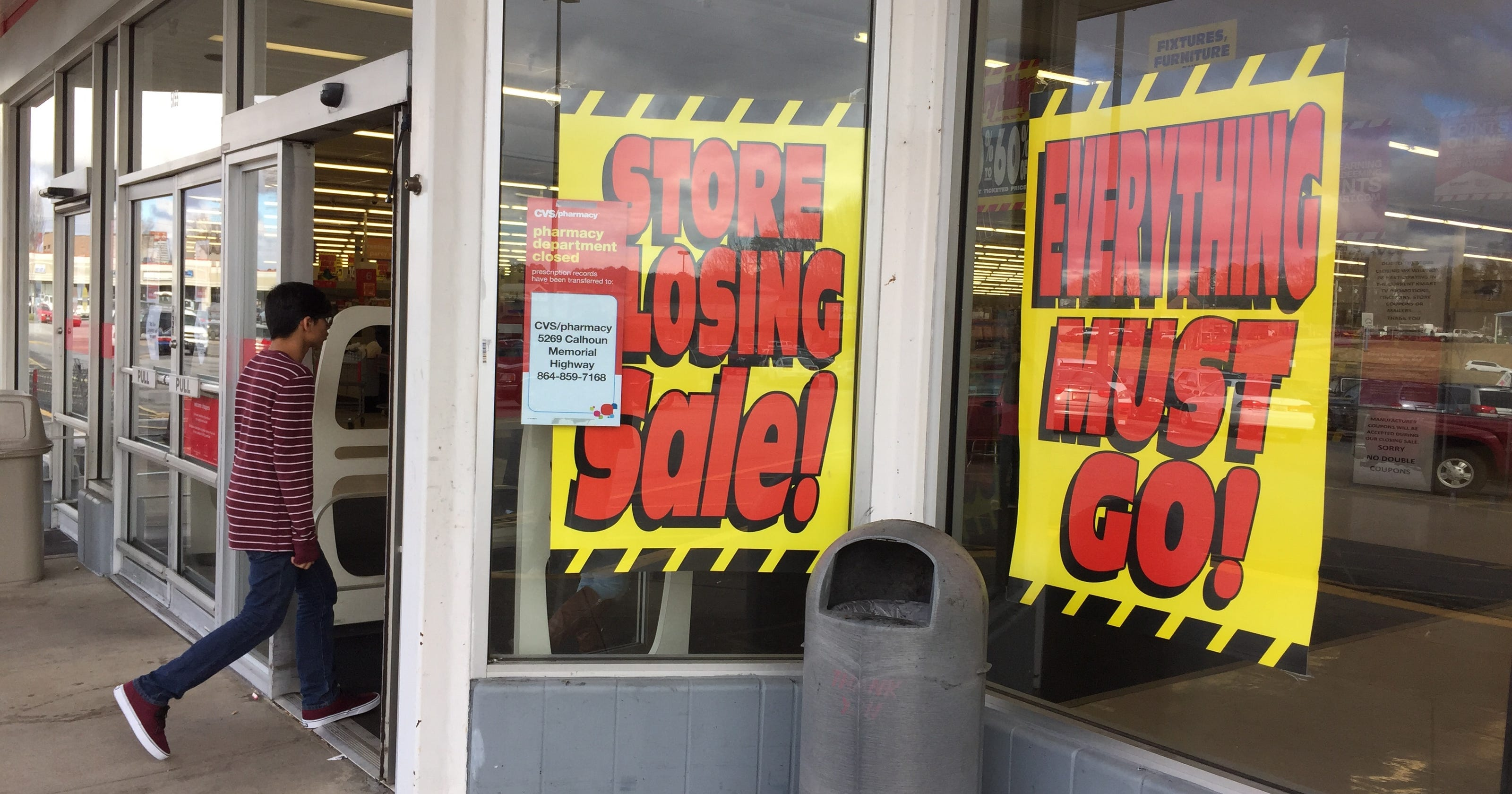 8d5b121399 Easley Kmart closing after four decades