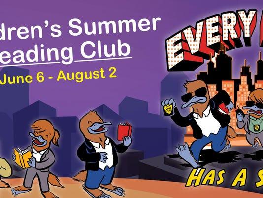 Childrens Summer Reading logo