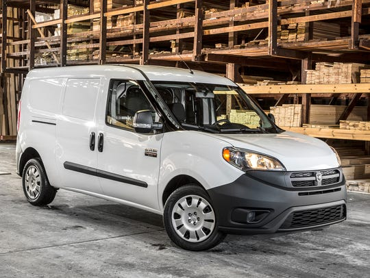 This photo provided by Ram shows the 2018 Ram ProMaster