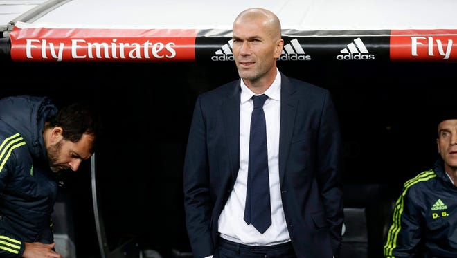Early in his tenure, coach Zinedine Zidane has changed the culture around Real Madrid.