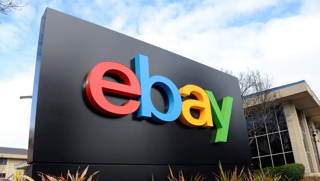 eBay headquarters in San Jose.