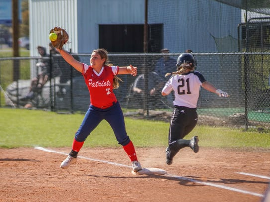North Vermilion 's Lady Patriots are the No. 4 seed and Kaplan's Lady Pirates the No. 7 seed in the Class 3A state softball bracket, released Thursday by the LHSAA.
