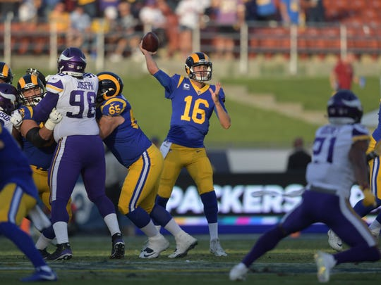 Jared Goff, Rams offense have been dominant in primetime under Sean McVay