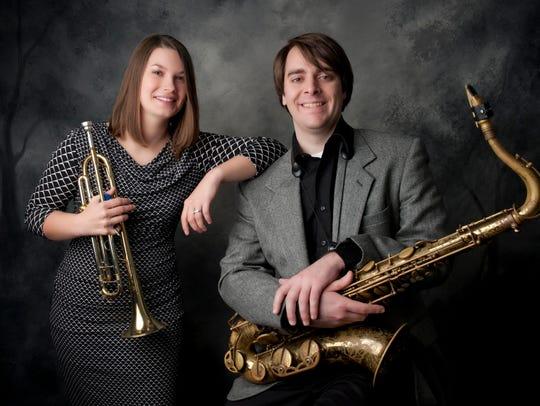 Moment's Notice, trumpeter Jen Siukola and tenor saxophonist