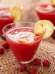 This raspberry lemonade daiquiri can be made now with store-bought berries, or soon when the raspberry crop comes in.