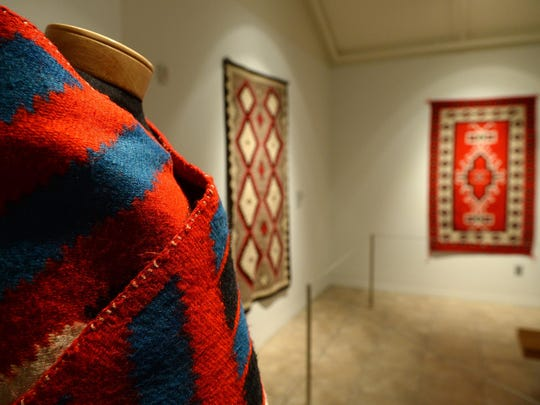 """""""Walk in Beauty: Navajo Rugs from the Bair Family Collection"""" is on display through June 26 at the Charles M. Bair Family Museum in Martinsdale."""