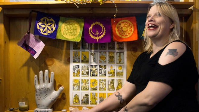 Angela Kunschman, Ordained Priest at Mother Goddess Temple and  scrye reader at Raven & Crone