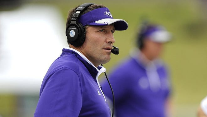 Thomas Metthe/Reporter-News Abilene Christian head coach Ken Collums and the Wildcats have started the season off 0-3 in 2016. They play Stephen F. Austin at 6 p.m. Saturday in Nacogdoches. SFA has won it last two games, including an upset of then-No. 13 McNeese State last week in Lake Charles, Louisiana.