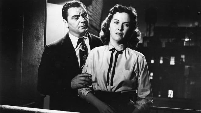 """Ernest Borgnine and Betsy Blair star in the 1955 classic film """"Marty."""""""