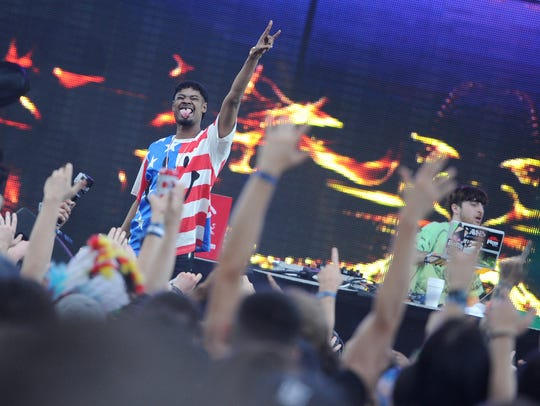 Detroit rapper Danny Brown is scheduled to perform at House of Vans on Friday.